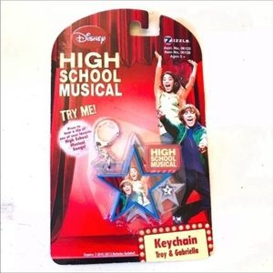 Disney High School Musical Keychain Troy Gabriella